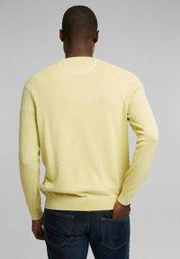 Esprit - Jumper - light yellow - 3