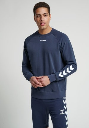 HMLISAM - Sweatshirts - blue nights