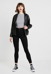 Topshop - JONI NEW - Jeans Skinny Fit - black - 1