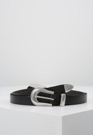 Midjebelte - schwarz