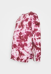 Missguided Maternity - MAMA TIE DYE - Sweatshirt - raspberry - 0