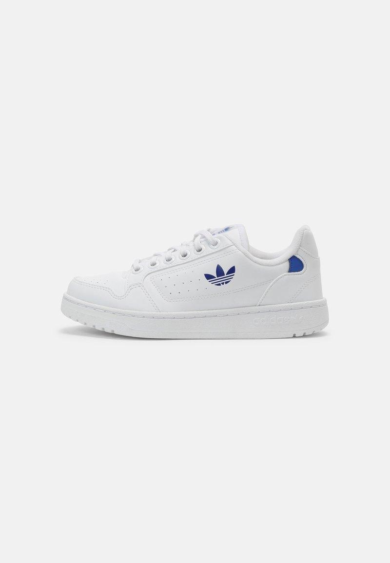 adidas Originals - NY 90 UNISEX - Sneakersy niskie - white/team royal blue