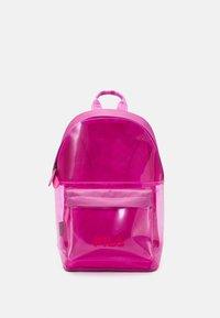 Fila - TRANSPARENT BACKPACK UNISEX - Mochila - super pink - 1