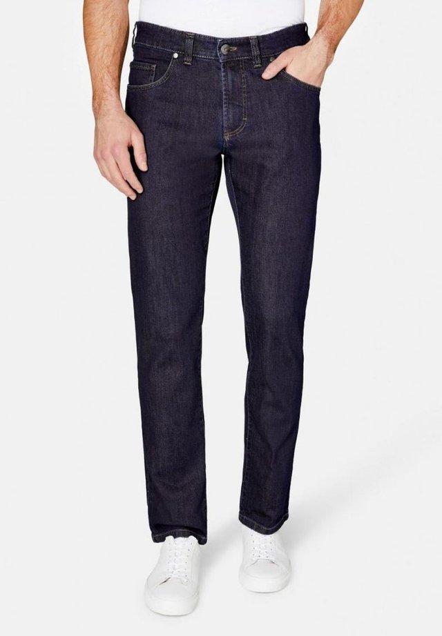 NEVIO - Straight leg jeans - blau
