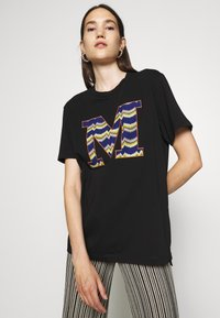 M Missoni - SHORT SLEEVE - Print T-shirt - black beauty - 3