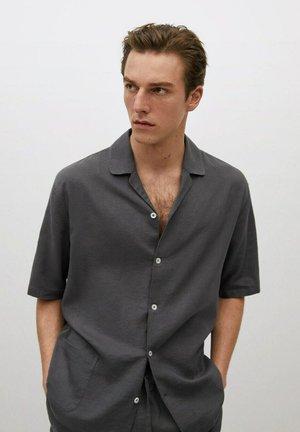 Pyjama top - antraciet