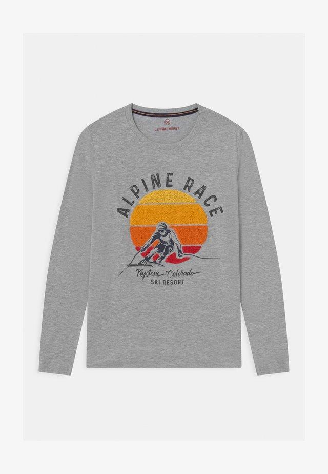 BOYS - Långärmad tröja - grey melange