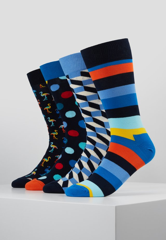 GIFT BOX 4 PACK - Socks - multi-coloured