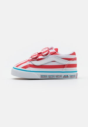 OLD SKOOL UNISEX - Trainers - red/white