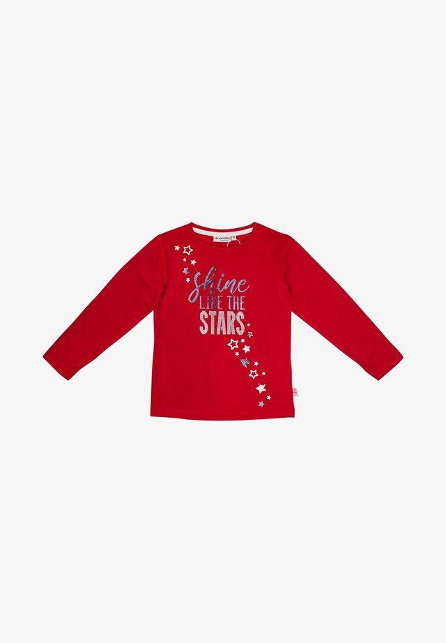Long sleeved top - cherry red