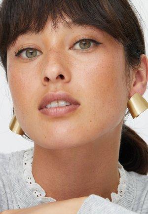 ALPHEA SCULPTURAL  - Earrings - gold