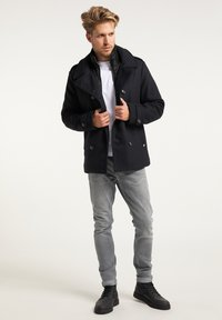Petrol Industries - Short coat - black navy - 1