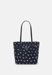 kate spade new york - MEDIUM TOTE - Handbag - squid ink/multi - 0