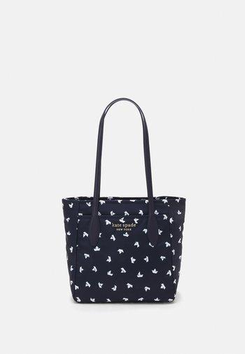 MEDIUM TOTE - Handbag - squid ink/multi