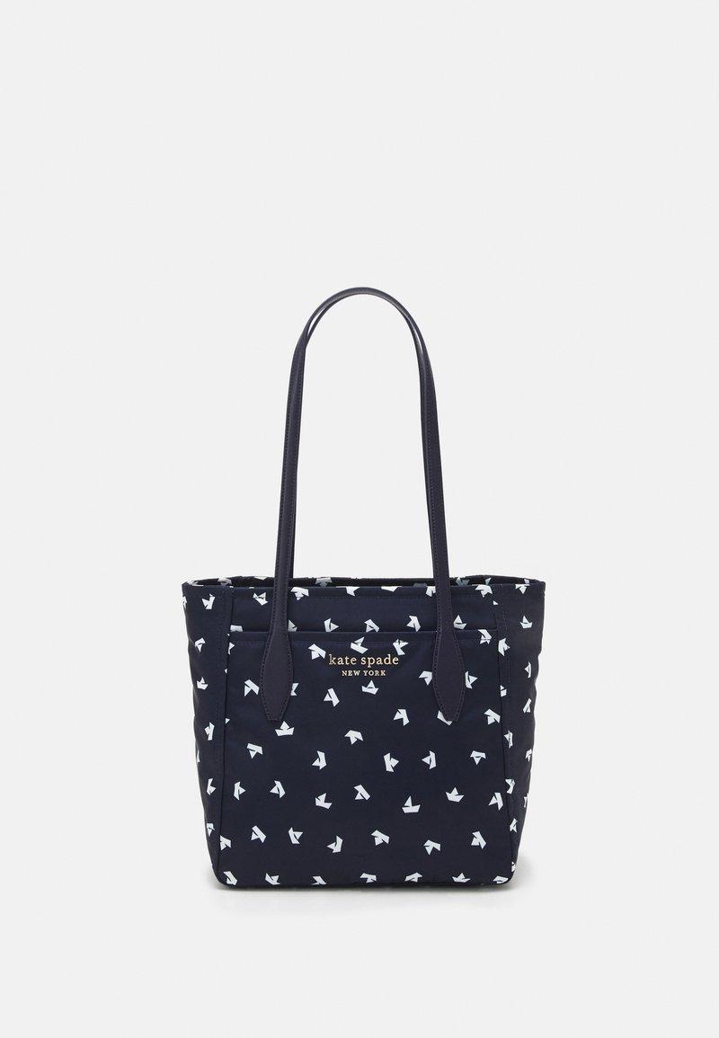 kate spade new york - MEDIUM TOTE - Handbag - squid ink/multi