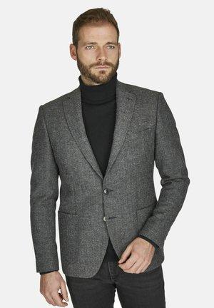 WOLL-SAKKO FISCHGRAT - Blazer jacket - grau