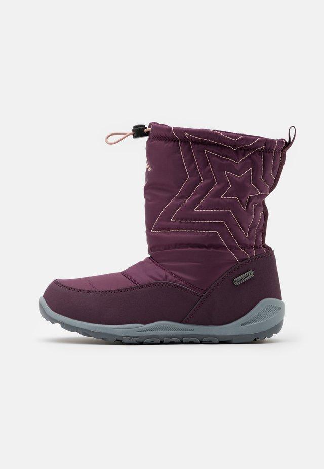 CESSY TEX UNISEX - Zimní obuv - purple/rosé