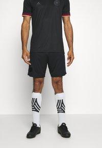 adidas Performance - DFB DEUTSCHLAND A SHO - Träningsshorts - black - 0