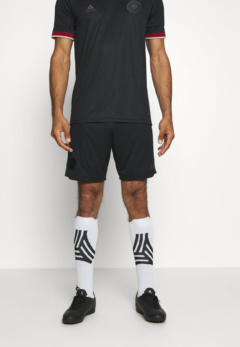 adidas Performance - DFB DEUTSCHLAND A SHO - Träningsshorts - black