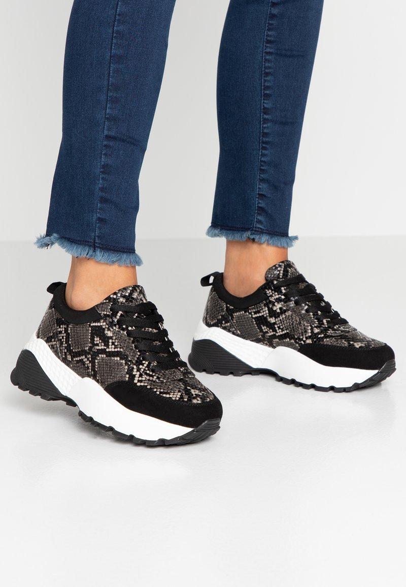 Even&Odd - Sneakers - black/white
