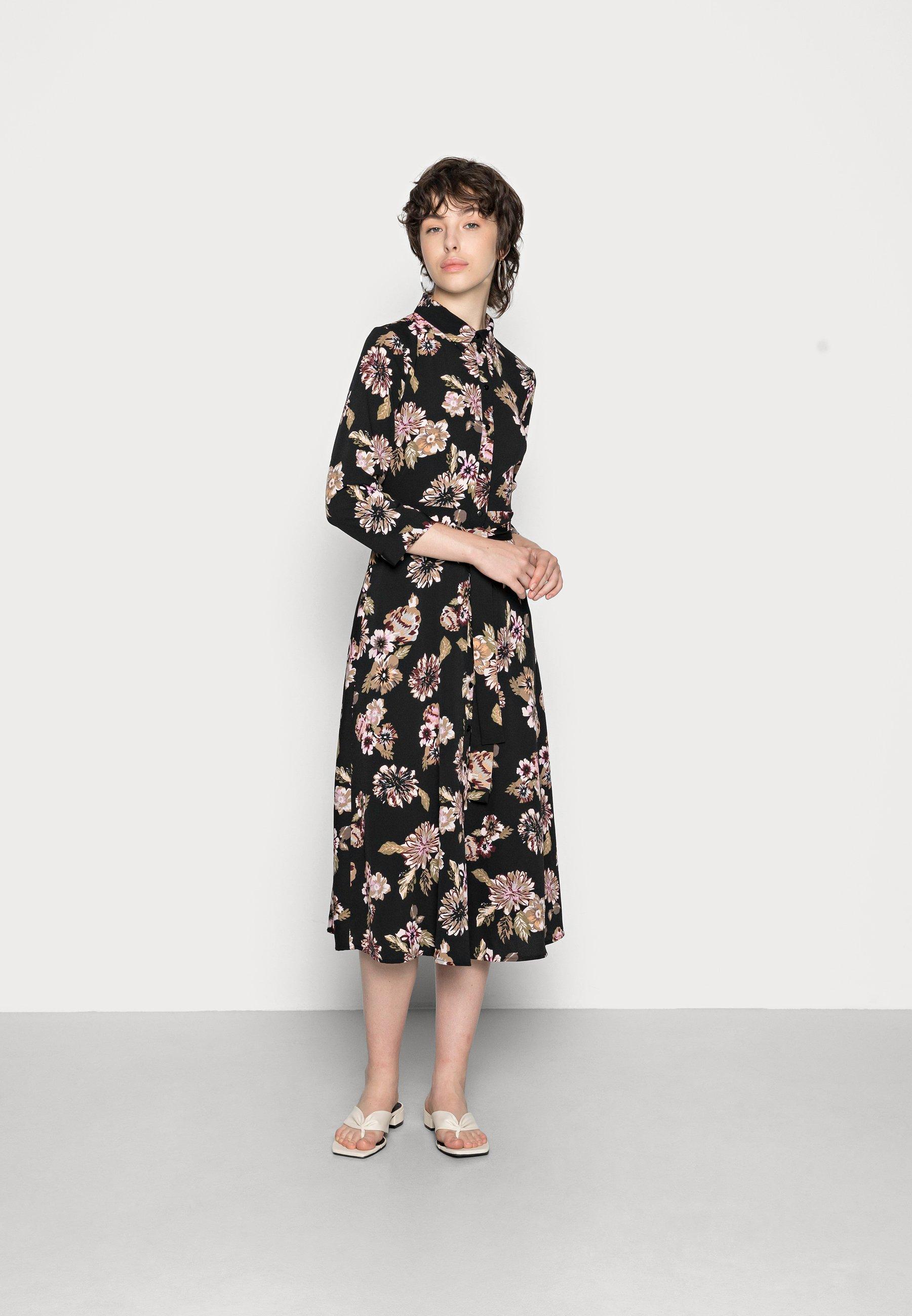 Women PCEMBER MIDI DRESS - Shirt dress