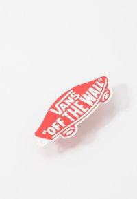 Vans - ERA UNISEX - Sneakersy niskie - pewter/true white - 5