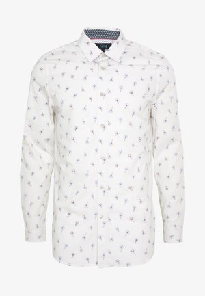 DISHNA PEACOCK FEATHER PRINT - Shirt - white