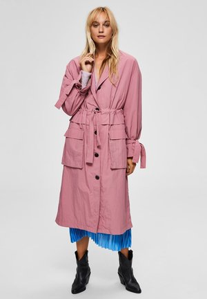 Trenchcoat - heather pink