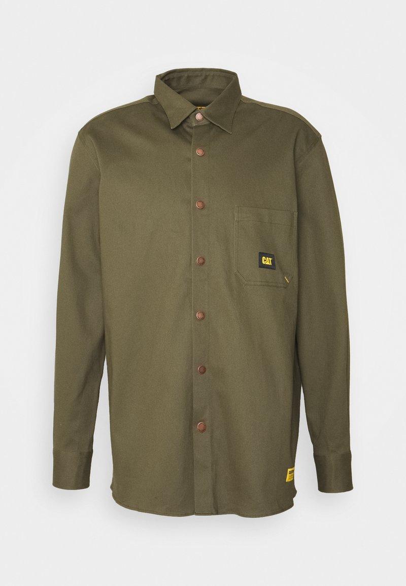 Caterpillar - CAT SHIRT - Camisa - military