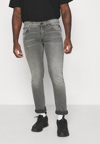 GROVER - Jeansy Skinny Fit - medium grey