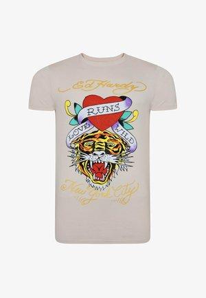 WILD-LOVE T-SHIRT - Print T-shirt - lilac