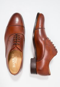 Barker - DUXFORD - Smart lace-ups - rosewood - 1