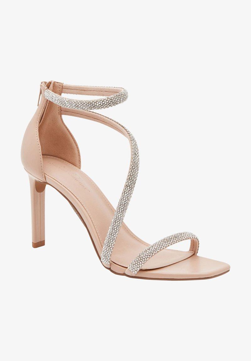 Next - Sandály na vysokém podpatku - nude