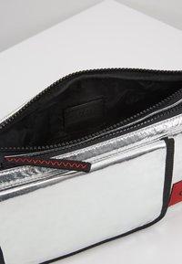 HUGO - KOMBINAT BUMBAG - Bum bag - silver - 4