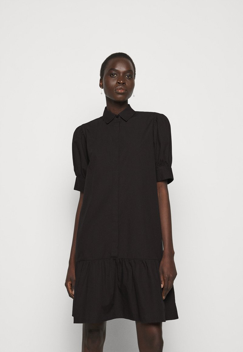 Bruuns Bazaar - FREYIE ALISE SHIRTDRESS - Shirt dress - black