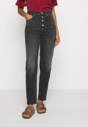 MOM HIGH RISE  - Relaxed fit jeans - black comfort