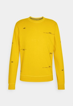Sweatshirt - antique yellow