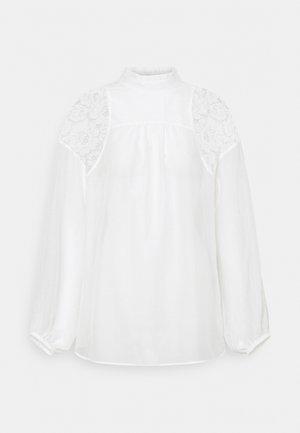 EMBOIRDERED - Blusa - white