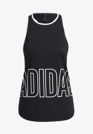 ALPHASKIN GRAPHIC TANK TOP - Top - black