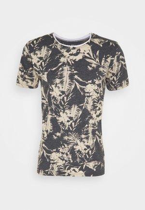 THRILL ROUND - Print T-shirt - anthracite