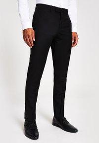 River Island - Pantaloni eleganti - black - 0