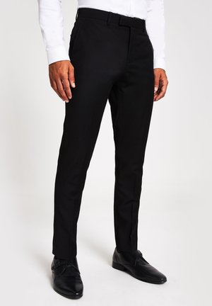 Suit trousers - black