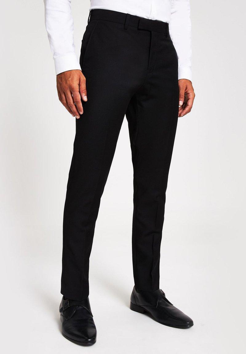 River Island - Pantaloni eleganti - black