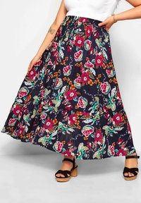 Yours Clothing - Maxi skirt - blue - 0