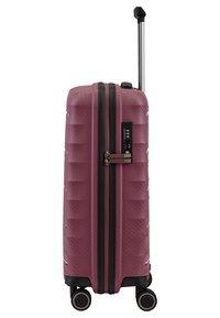 Titan - HIGHLIGHT  - Wheeled suitcase - merlot - 3