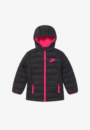 GIRLS MID WAIST STADIUM  - Zimní kabát - black/hyper pink