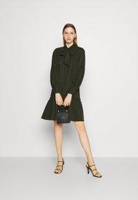 Bruuns Bazaar - PRALENZA ALLEA SHIRT DRESS - Day dress - green night - 1