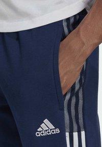 adidas Performance - TIRO21 SW PNT - Träningsbyxor - blue - 3