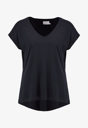 KALISE SS  - Camiseta básica - washed black