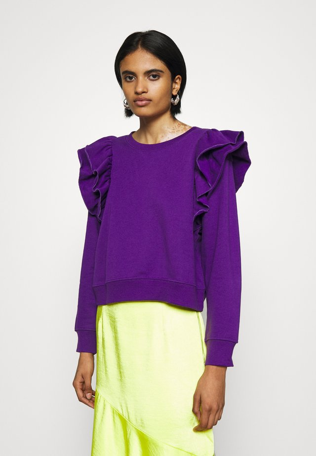 MISA - Sweater - purple